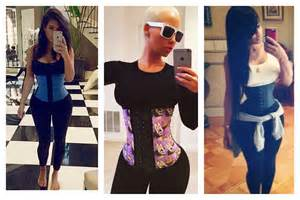 Amber rose blac chyna etc have all endorsed various brands of waist