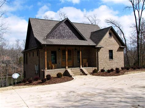 Craftsman Cabin House Plans by 3 Bedroom Craftsman Cottage House Plan With Porches