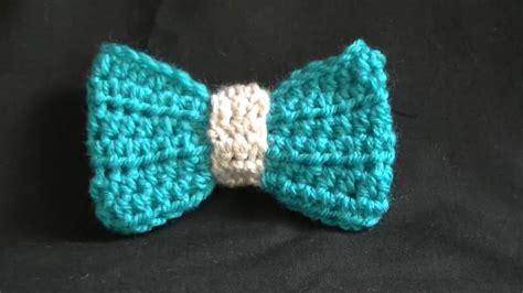youtube tutorial how to crochet how to crochet bow easy youtube