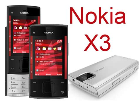 handphone info nokia x3