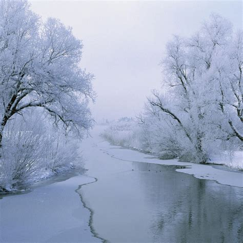 frozen winter wallpaper frozen river desktop wallpapers 1024x1024