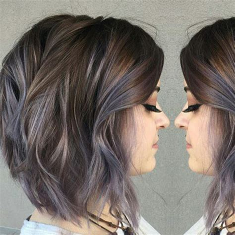 aveda institute dallas reviews hair highlights subtle blue highlights in brunette hair color achieved by