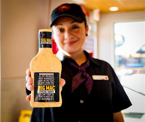 Big Mac Sauce Giveaway Locations - mcdonald s is giving away limited edition big mac special sauce houston press