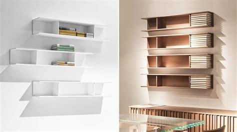 librerie a muro moderne libreria modulare pensile a muro light sololibrerie
