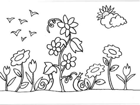 imagenes para colorear jardin dibujos para colorear de caracoles