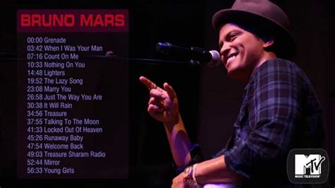 hits song bruno mars s greatest hits best songs of bruno mars