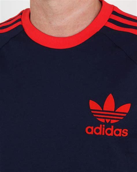 Tshirt Adidas Reutro Navy adidas t shirt navy california 3 stripes