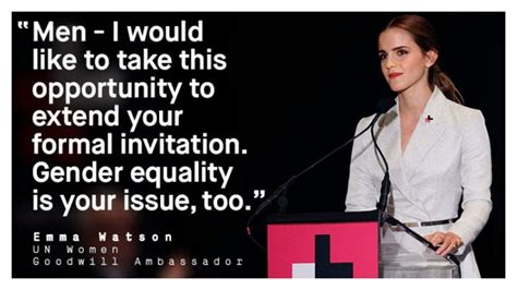 emma watson gender equality speech men of quality support gender equality damsel in dispute