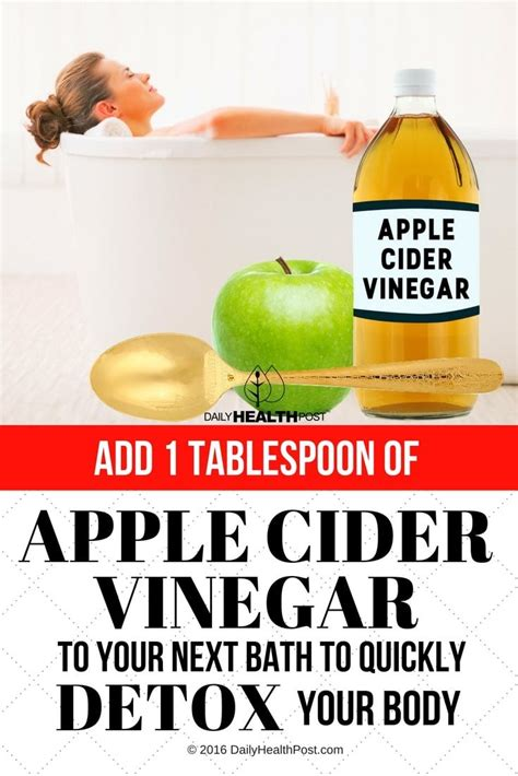 Apple Cider Vinegar Detox Bath Benefits by 60 Best Images About Apple Cider Vinegar Benefits And