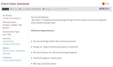 design engineer jobs gauteng job opportunities in south africa s growing industries