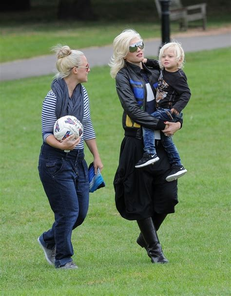 How Gwen Stefani Spent Mothers Day by How Spent Their S Day Weekend