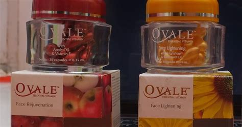 Serum Wajah Ovale sparks of product review ovale essential vitamin rejuvenating lightening
