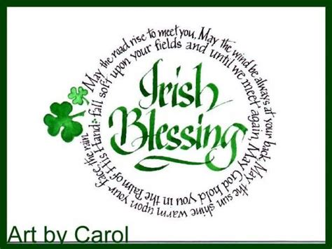 irish blessing tattoo a blessing for you quot may the road rise to