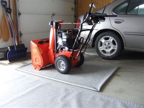 Snowblower Mat by Garage Floor Mat For Snowblower Our Happy Customers