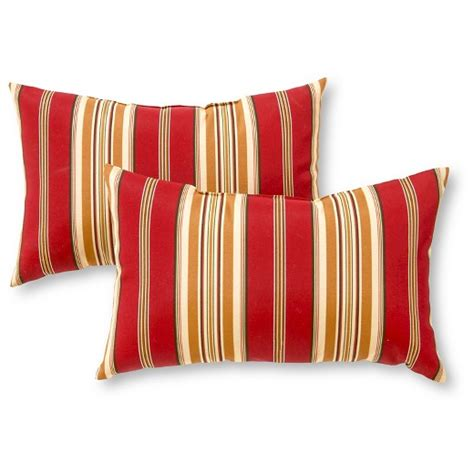 outdoor accent pillow set roma stripe greendale home
