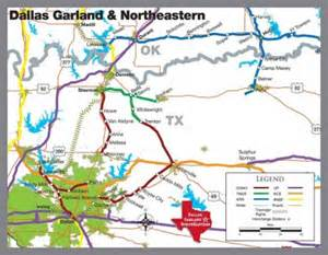 Dallas Rail Map by Rail Texoma Council Of Governments