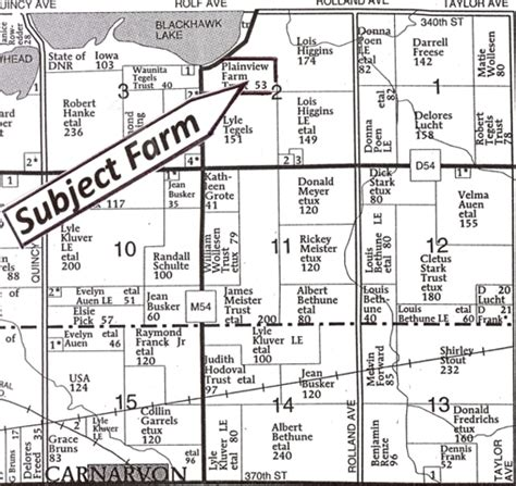 Sac County Records Sac County Iowa Plat Map Pictures To Pin On