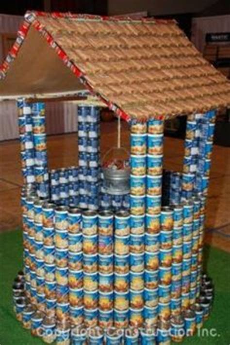 canned food sculpture ideas 28 simple canstruction ideas canstruction