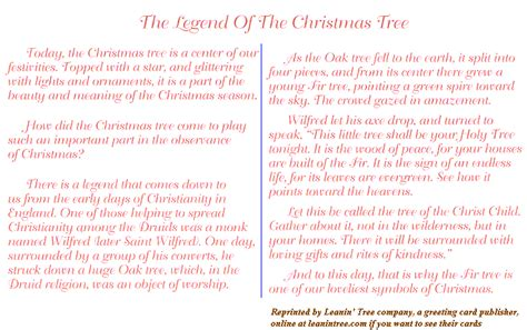 some other notes on christmas 1 legend of why xmas
