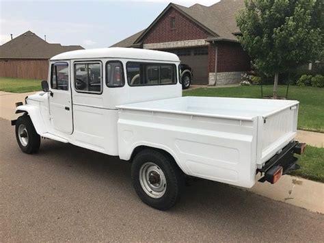 white toyota truck 1989 white 4x4 truck fj land cruiser fj40 fj45 hj45