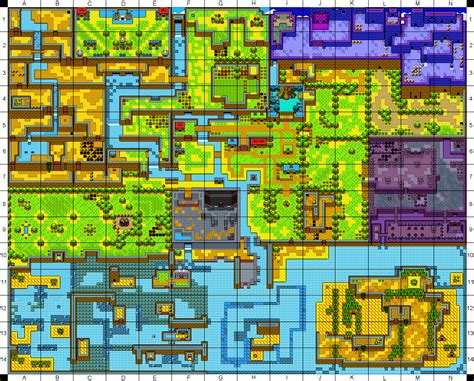 legend of zelda nes map and walkthrough mapa de labrynna zelda oracle of ages the legend of