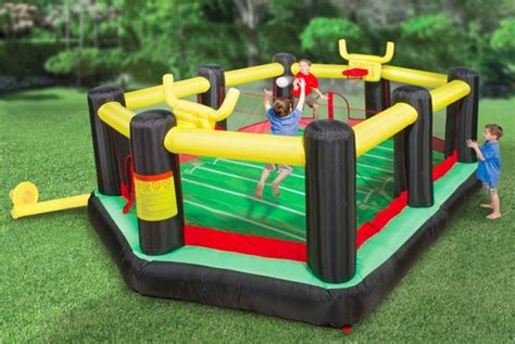 inflatable backyard sports arena craziest gadgets