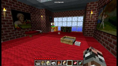 make a bed in minecraft 30 second minecraft crafting mo creatures kitty bed youtube
