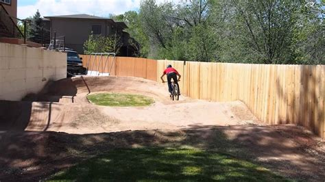 how to make a backyard pro mountain biker ross schnell on his backyard pump