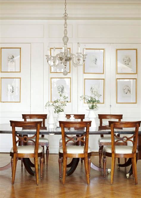 dining room prints hanging art 3 approaches prefered by interior designers