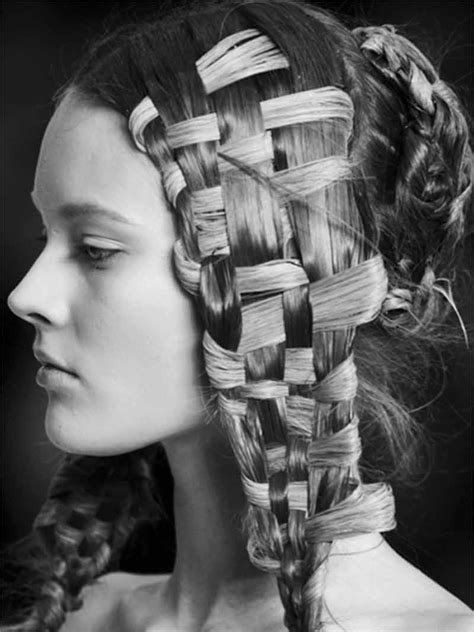 Basket Weave Hairstyle by The 30 Worst Hairstyles On The Strayhair