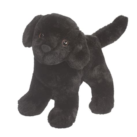 puppy plush abraham the plush black lab puppy by douglas