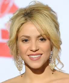 hairstyles for by shape age shakira height weight body statistics favorites healthy