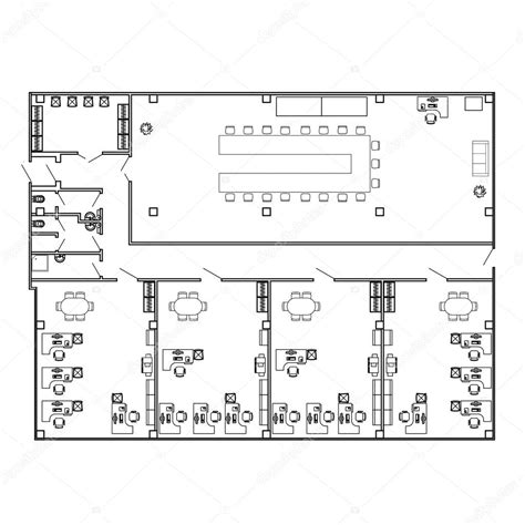 floor plan furniture collection stock image image blueprint furniture vector image collections blueprint