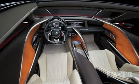 lexus lf fc interior new information on the lexus lf lc concept lexus enthusiast