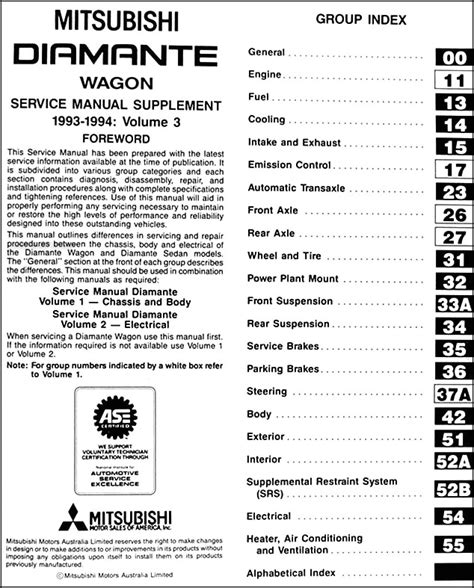 repair anti lock braking 2005 mitsubishi diamante spare parts catalogs service manual free download to repair a 1994 mitsubishi diamante service manual 1995
