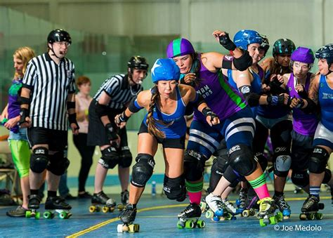 Roller Derby To Bond Its Your Playground by Sports Archives Scout Somerville