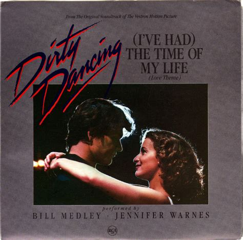 the time of my 45cat bill medley and jennifer warnes i ve had the time of my life love is strange rca
