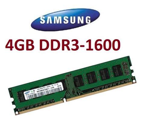 Ram Laptop Ddr3 4gb Pc12800 4gb samsung ram speicher ddr3 1600 mhz m378b5273eb0 ck0