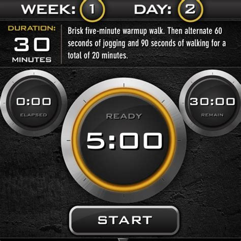 couch to 5k walking app free c25k app by zen labs couch to 5k it tells you when