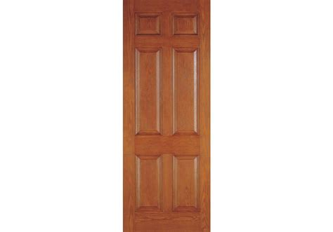Drg6080 Plastpro Fiberglass Woodgrain Six Panel Entry 4 Panel Exterior Door