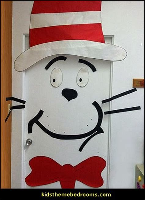 Cat In The Hat Bedroom Decor by Decorating Theme Bedrooms Maries Manor Dr Seuss Theme