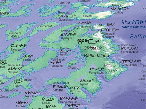 map of canada with islands tallest building baffin island political map pictures
