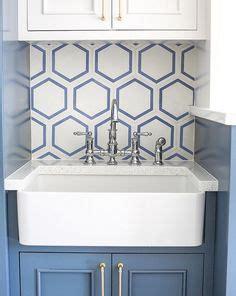 large white hexagonal tile backsplash hodge podge 1000 images about laundry rooms on pinterest laundry