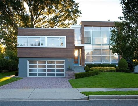 modern split level homes split level conversion modern exterior new york by