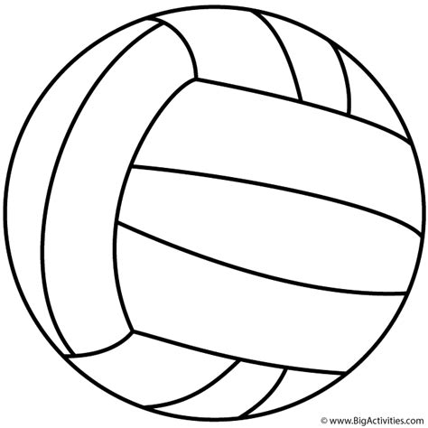 volleyball coloring book pages volleyball coloring page sports