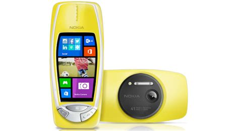 nokia 3310 makeover announced with 41mp pureview windows phone os softpedia