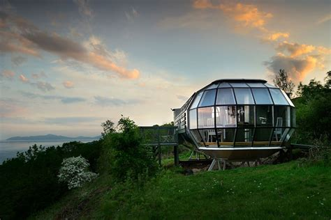 airbnb boats scotland this scottish airbnb is an airship parked away in seclusion