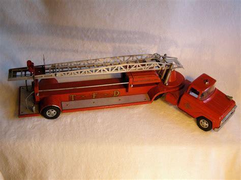 tonka fire truck vintage tonka fire truck no 48 hydraulic aerial ladder