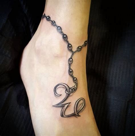 tattoo ankle bracelet with charm designs 115 best charm bracelet tattoos images on