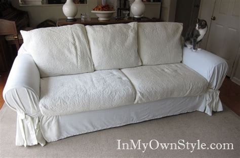 How To Make Sofa Cushion Covers by How To Diy Slipcovers Sofa Covers For Cheap And Easy